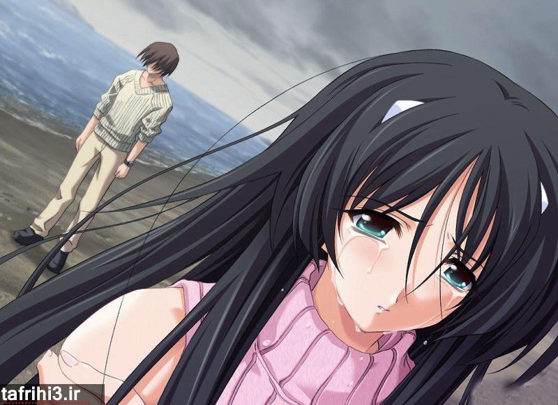 تصاویر عاشقانه فانتزی دختر و پسر در حال گریه