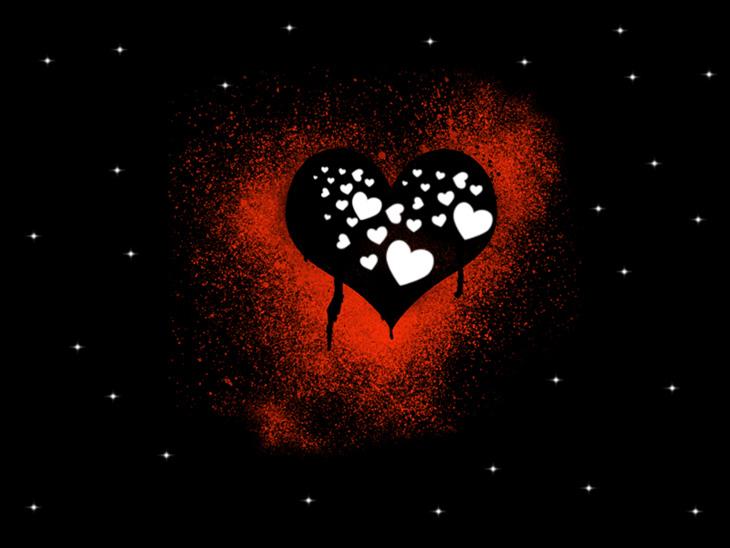 عکس قلب فانتزی عاشقانه