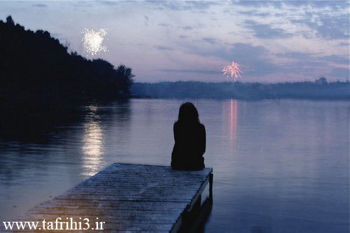 عکس های عاشقانه زیبا و احساسی از تنهایی دختران