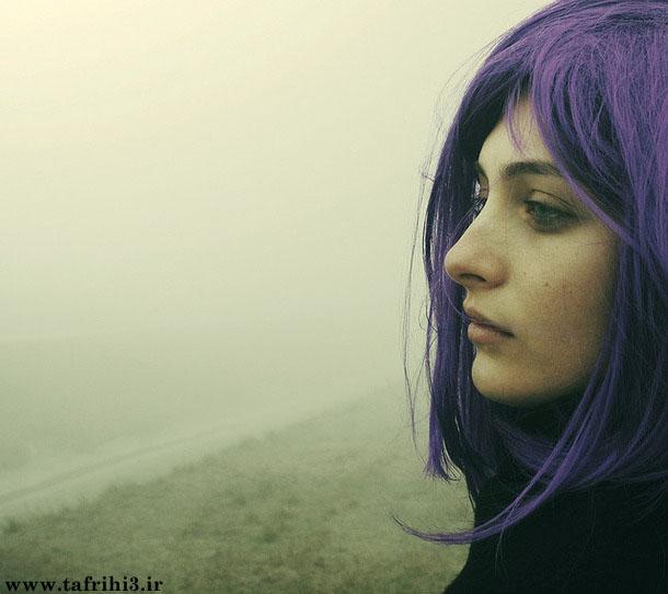 عکس های عاشقانه از دختران دلتنگ و تنها