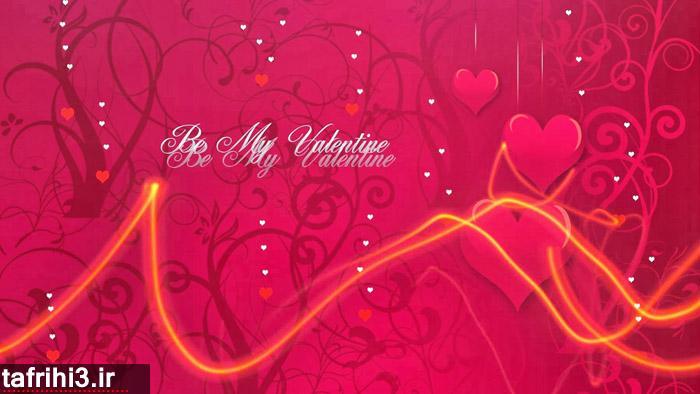 کارت پستال عاشقانه ولنتاین 2014