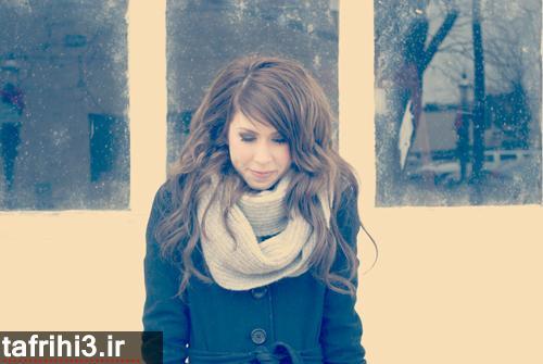 تصاویر عاشقانه غمگین از تنهایی دختر