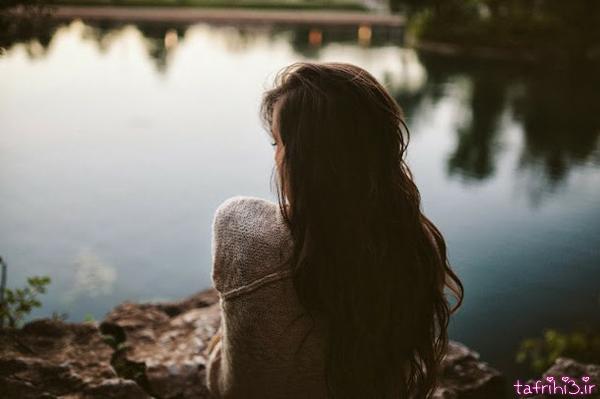 عکس های جدید عاشقانه غمگین دختر تنها
