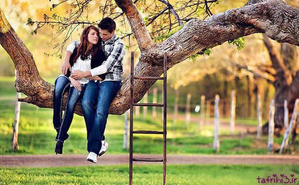 عکس های رمانتیک دختر و پسر عاشق و معشوق