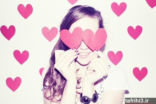 عکس های احساسی عاشقانه دختر