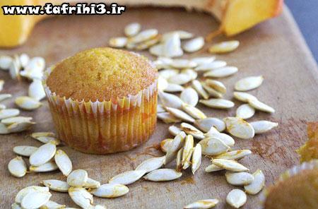 طرز تهیه ی کاپ کیک کدو حلوایی
