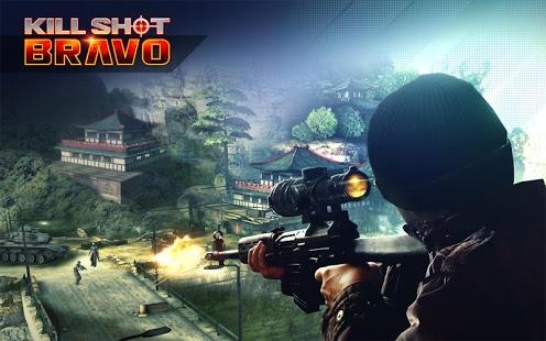 دانلود بازی شلیک مرگبار براوو برای اندروید -  kill shot bravo
