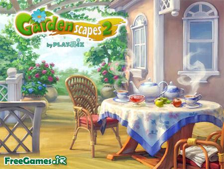 دانلود بازی مزرعه داری 2 - Gardenscapes 2