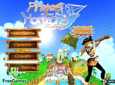 دانلود بازی کم حجم Pirates of New Horizons