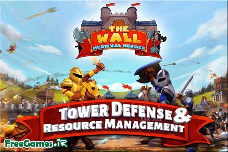 دانلود بازی دفاعی The Wall Medieval Heroes