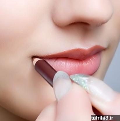 نكته های ریز آرایش لب ها كه خانمها نادیده میگیرند
