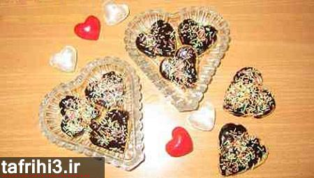 طرز تهیه شکلات قلبی مخصوص روز عشق