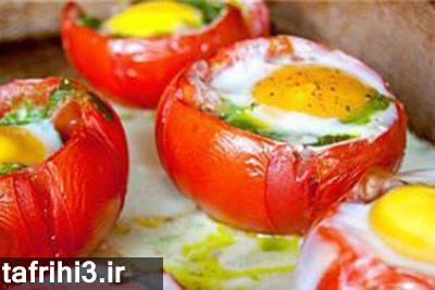 طرز تهیه املت گوجه کبابی