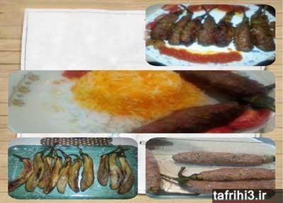 آموزش طرز تهیه بادمجان گوشتی کبابی