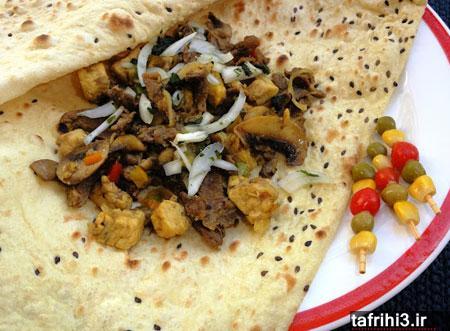 طرز تهیه کباب بختیاری در تابه