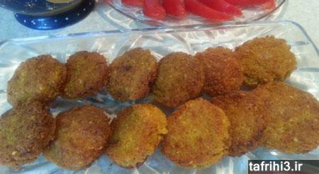 طرز تهیه فلافل نخود و هویج