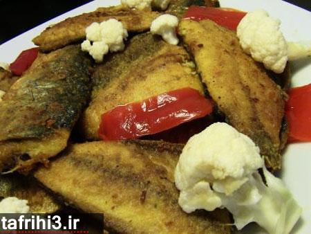 طرز تهیه سرخ کردن ماهی شب عید