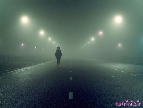 من از دوری تو مثل شبای جاده می ترسم