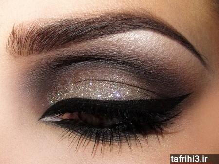 مدل آرایش شیک چشم