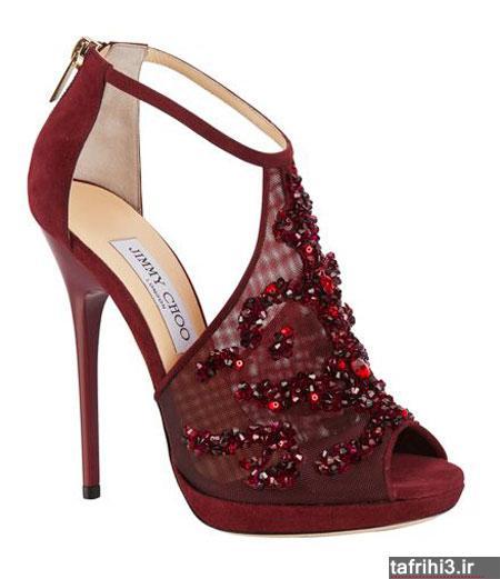 مدل کفش شیک دخترانه به رنگ سال 2015