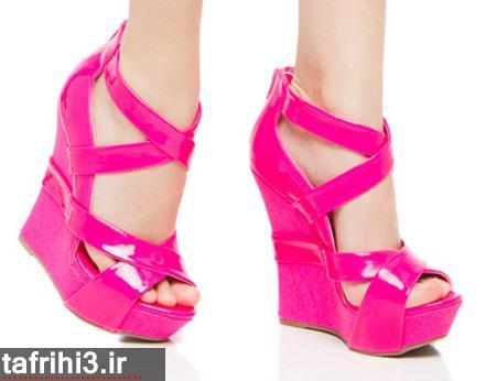 کفش پاشنه بلند مجلسی دخترانه 93