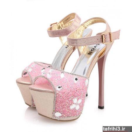 مدل کفش های مجلسی دخترانه جدید 2014