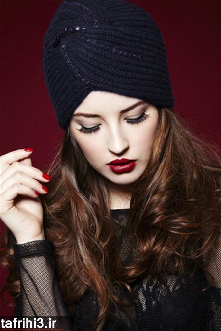 شیک ترین مدل کلاه های بافتنی 2014