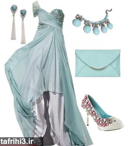 ست لباست مجلسی دخترانه 93
