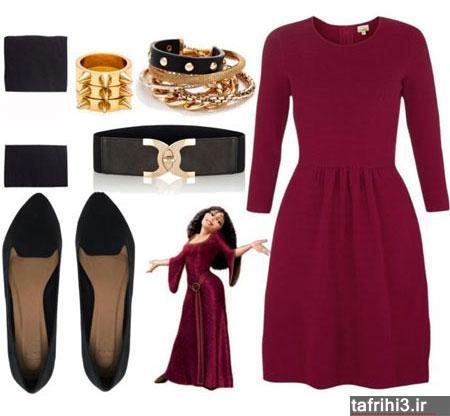 ست لباس دخترانه جدید 2015
