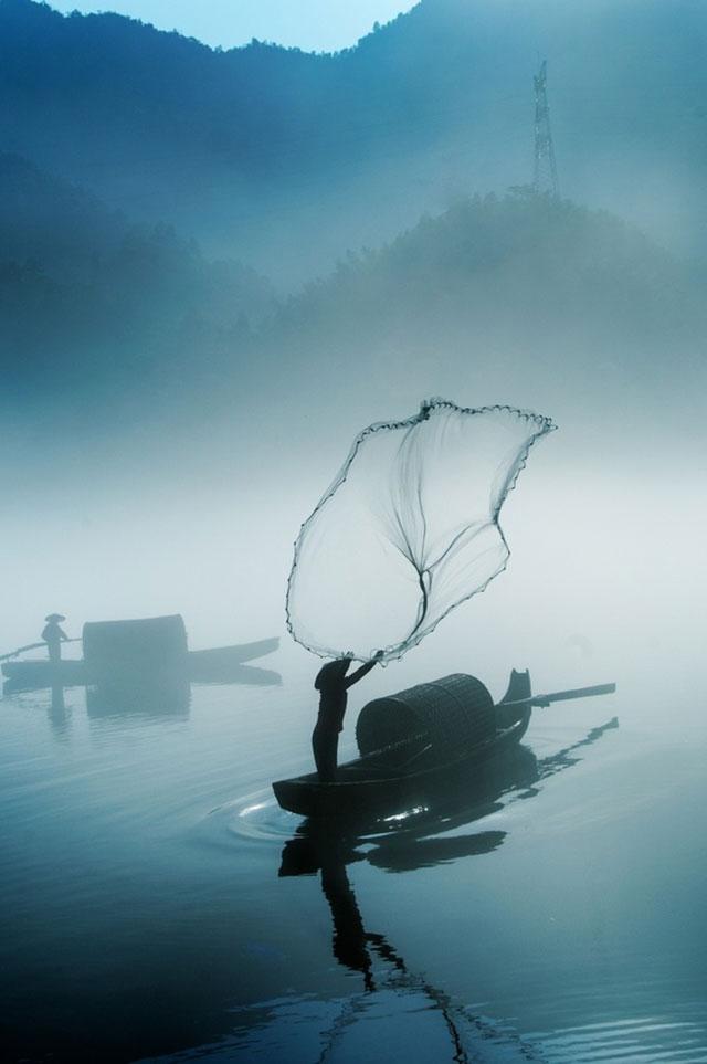 عکس های زیبا و دیدنی از مناظر در مه