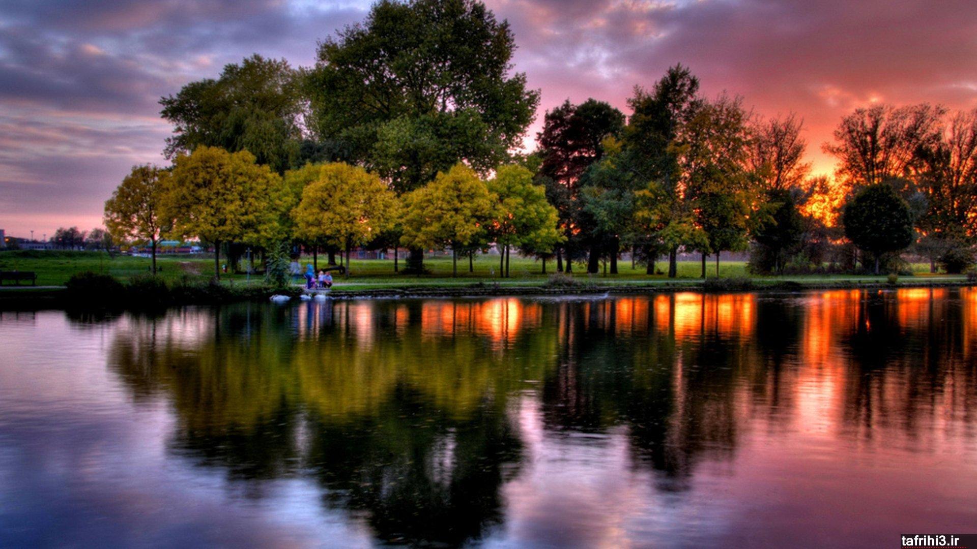 عکس های رمانتیک و زیبا از غروب آفتاب