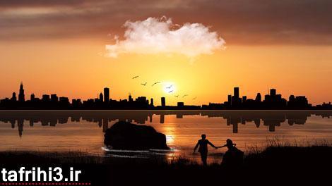 عکس رمانتیک عاشقانه دختر و پسر