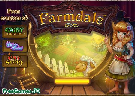 دانلود بازی مزرعه کوچک اندروید - Farmdale